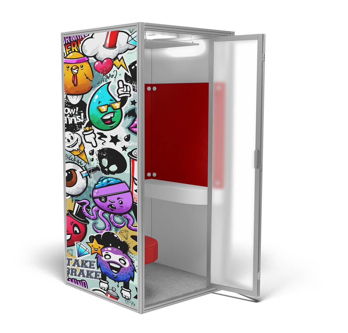 cubicall - modern phone booth - custom