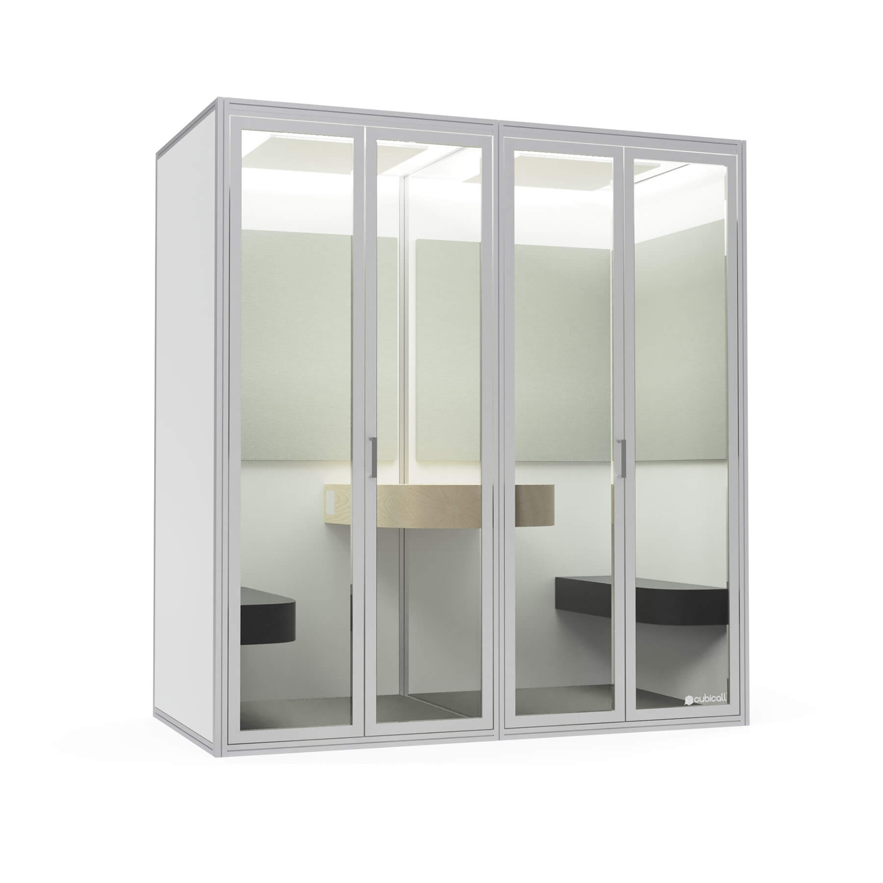 four cubicall white