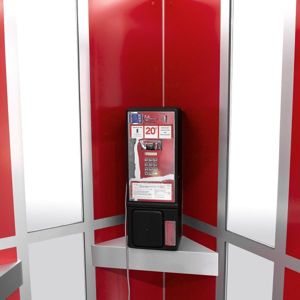 Cubicall Bill Ted PhoneBooth phone offhook