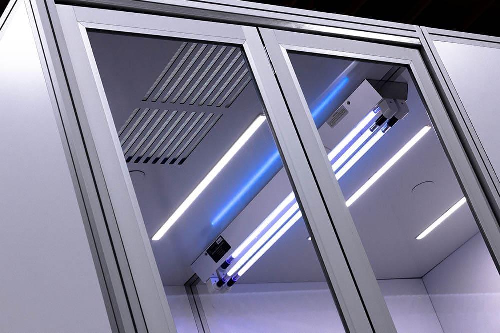 Cubicall Exam Pod - UV-C Skylight for UVGI