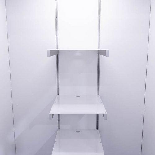 Cubicall Exam Pod - Adjustable Equipment Shelves
