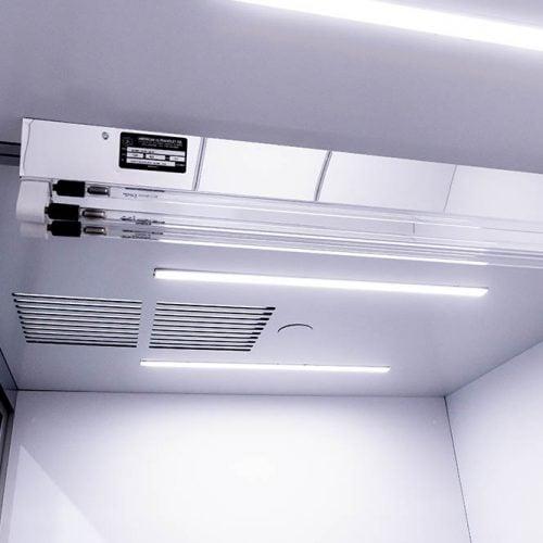 Cubicall Exam Pod - Ceiling & UVGI Skylight