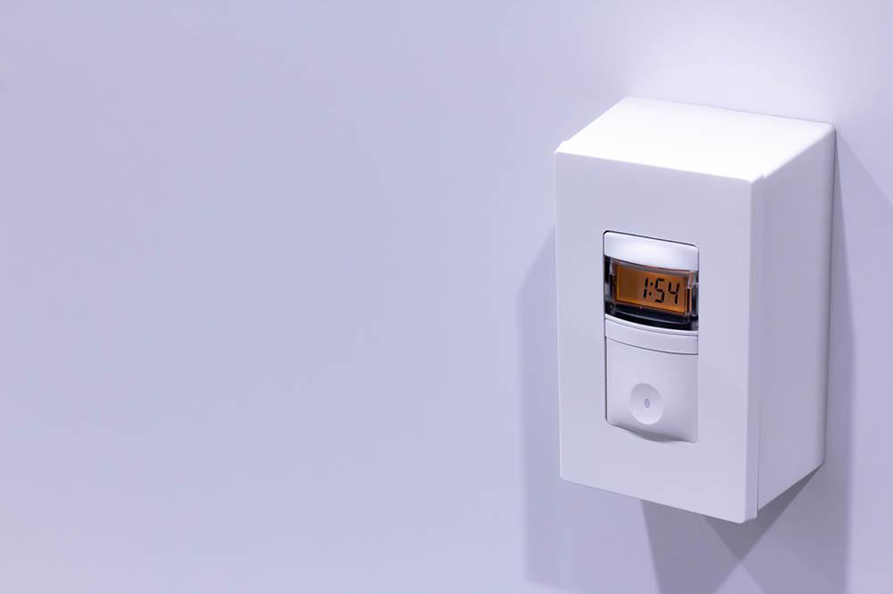 Cubicall Exam Pod - UV-C Skylight Switch/Timer (Exterior)
