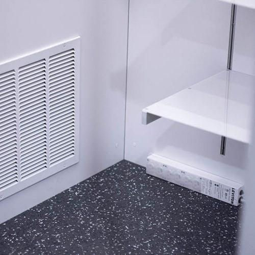 Cubicall Exam Pod - Interior Exhaust Panel