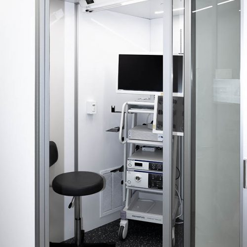 Exam Pod with Equipment