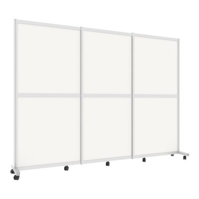 Cubicall Barrier rolling divider 3-panel 3