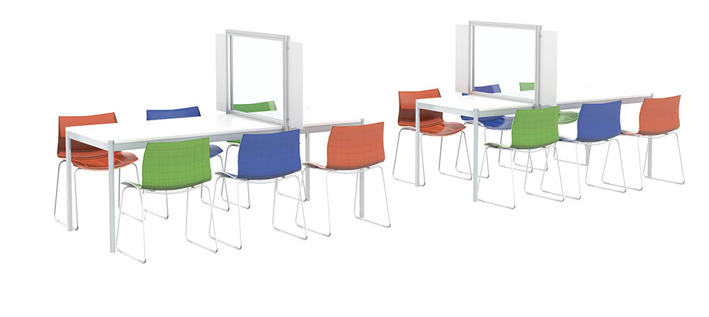 School / Lunch Table-Top Dividers