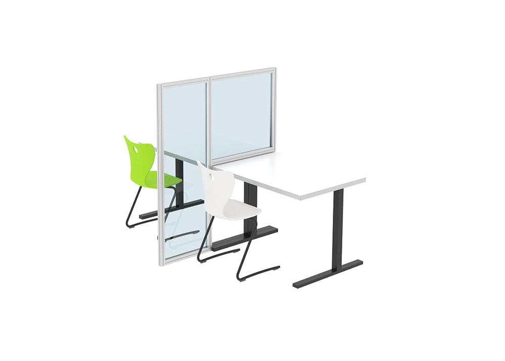 Desk Divider, Two-way