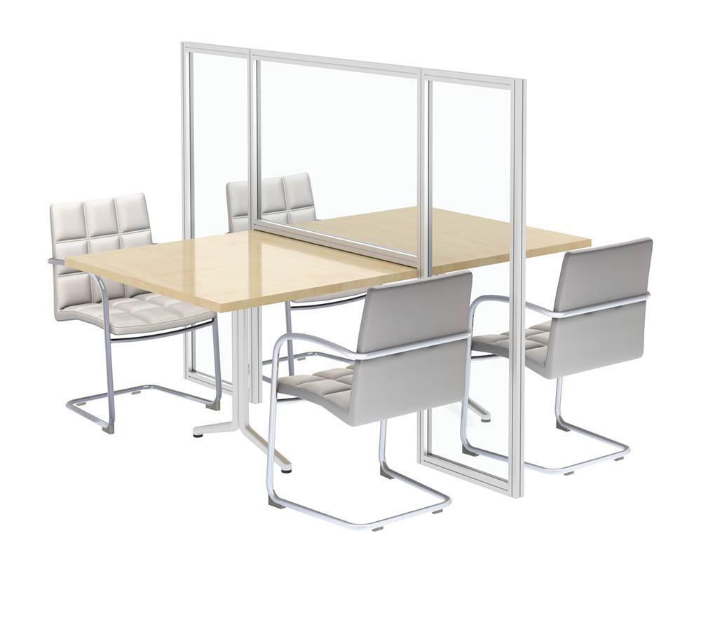 Desk Divider, Huddle Room