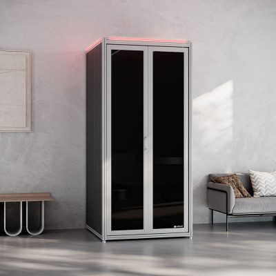 Cubicall Phone Booth with integrated UV