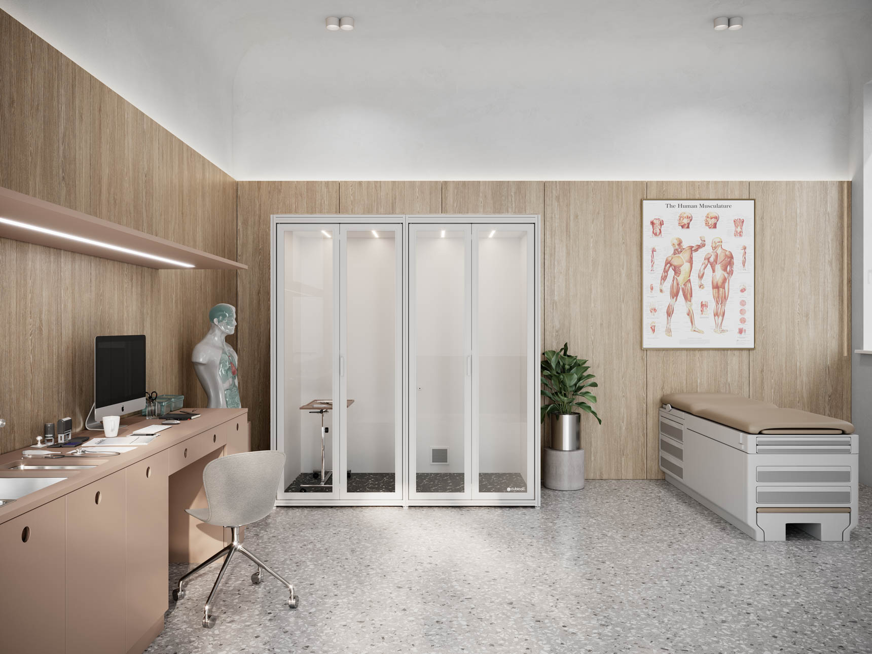 Exam Pod Private Doctors Office
