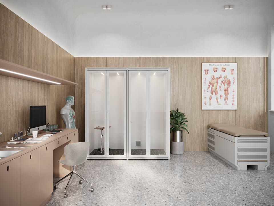 Exam Pod Private Doctor Office