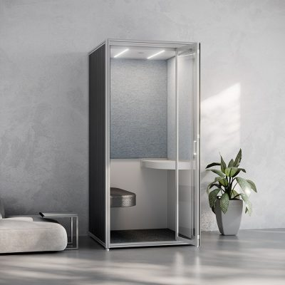 Modular Privacy Phone Booth